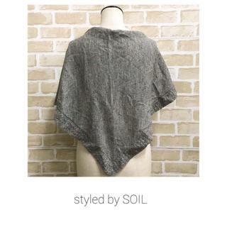 ソイル(SOIL)の【styled  by SOIL】ショール ストール ソイル(マフラー/ショール)