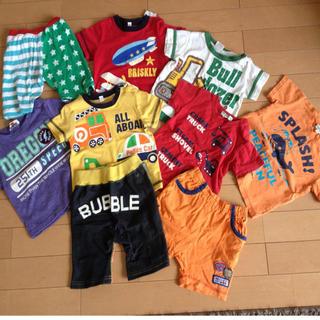 サンカンシオン(3can4on)のTシャツとパンツのセット80(その他)