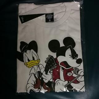 ディズニー(Disney)のB'z ディズニー コラボ Tシャツ 白(ミュージシャン)