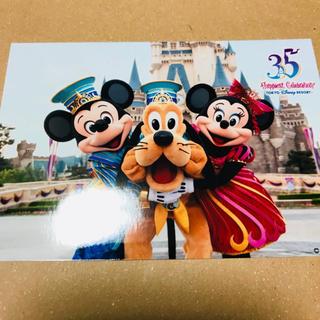 ディズニー(Disney)のディズニー スペシャルフォト スペフォ 35周年 ミッキー ミニー プルート(写真)