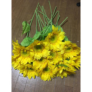 向日葵 造花 59センチ(その他)