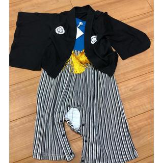 新品未使用 サイズ90 袴風 ロンパース(和服/着物)