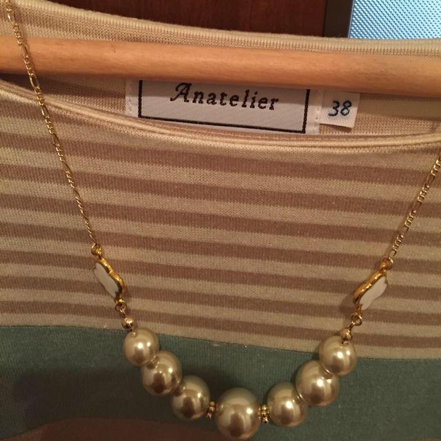 anatelier(アナトリエ)の♡ラメボーダーワンピース♡ レディースのワンピース(ひざ丈ワンピース)の商品写真