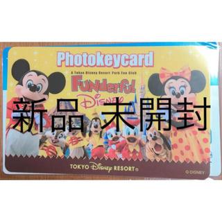 ディズニー(Disney)の新品 ディズニー シー ランド フォトキーカード フォトキー ファンダフル(その他)