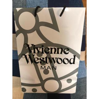 ヴィヴィアンウエストウッド(Vivienne Westwood)のヴィヴィアンウエストウッド MAN 紙袋 大(エコバッグ)