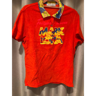 マークアンドロナ(MARK&LONA)のMARK&RONA パイル生地 ポロシャツ お値下げ(ウエア)