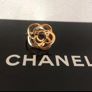 シャネル(CHANEL)のシャネル カメリアリング(リング(指輪))