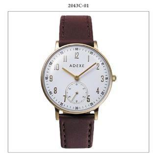ドアーズ(DOORS / URBAN RESEARCH)のADEXE 腕時計 2043C-01 本革(腕時計)