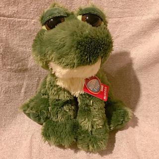 アウロラ(AURORA)のアメリカ購入 カエル ぬいぐるみ dreamy eye AURORA(ぬいぐるみ)