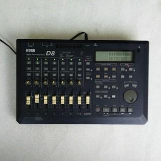 コルグ(KORG)のKORG D8 デジタルMTR 取説付き録音レコーディング (MTR)