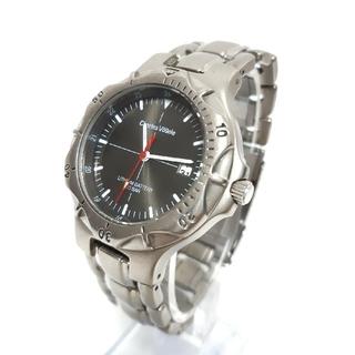 シャルルホーゲル(Charles Vogele)の「CHARLES VOGELE」TITANIUM メンズ腕時計 (腕時計(アナログ))