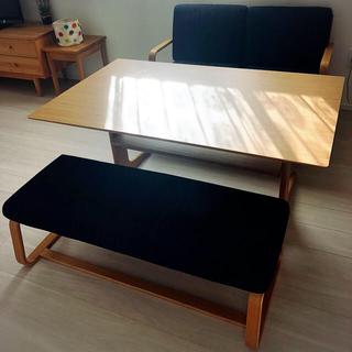 MUJI (無印良品) - 無印良品 * リビングでもダイニングでもつかえるテーブル