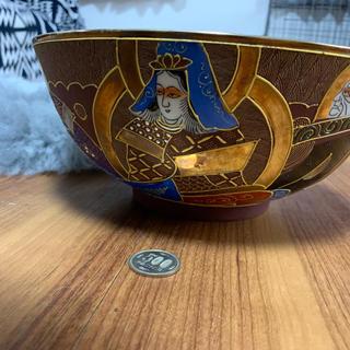きゃんきゃん様専用💗薩摩焼「金彩丸十印鉢 キングクイーン(陶芸)