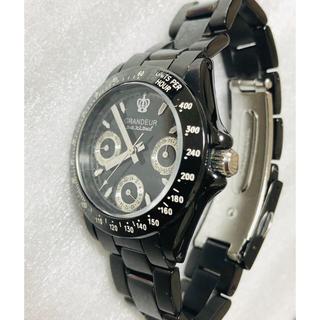 グランドール(GRANDEUR)のGRANDEURグランドール レディス腕時計  デイト機能付き(腕時計)