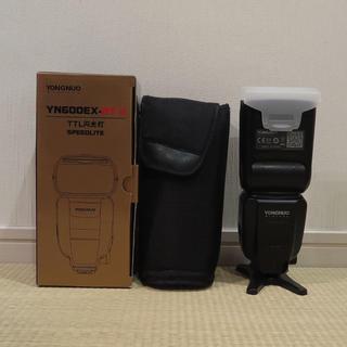 美品◆YONGNUO YN600EX-RT II ストロボ Canon用(ストロボ/照明)