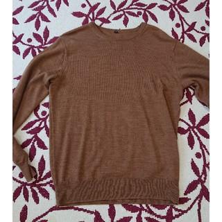 ムジルシリョウヒン(MUJI (無印良品))のトキさま専用無印羊毛100%セーターキャメル(ニット/セーター)