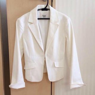 プライベートレーベル(PRIVATE LABEL)の白 ジャケット(テーラードジャケット)