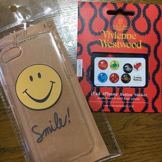 ヴィヴィアンウエストウッド(Vivienne Westwood)のiPhone7.8対応 ケース vivienne ステッカーセット(iPhoneケース)