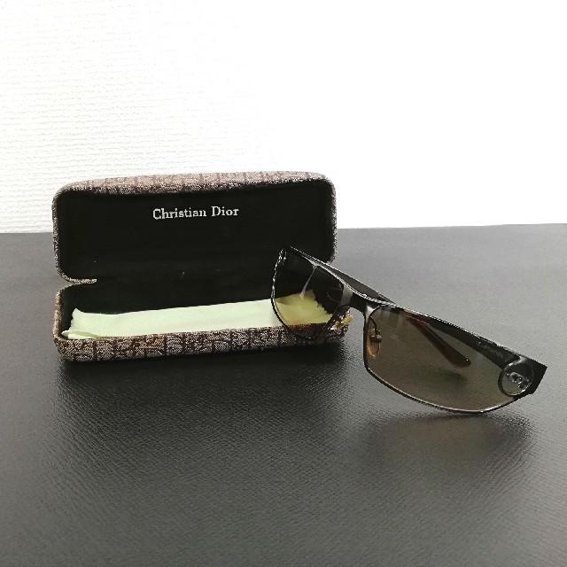 new styles f2373 b698f Christian Dior サングラス メガネ メンズ レディース 美品 | フリマアプリ ラクマ