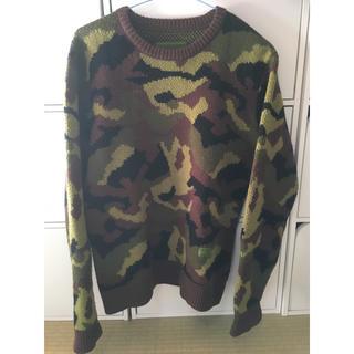 エクストララージ(XLARGE)の10月3日まで 丸に蔦様専用 X-LARGE 迷彩 セーター(ニット/セーター)