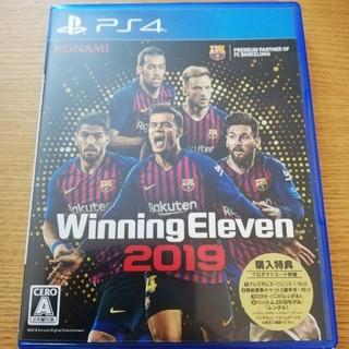 プレイステーション4(PlayStation4)のPS4  ウイニングイレブン2019 ☆購入特典付き☆(野球/サッカーゲーム)