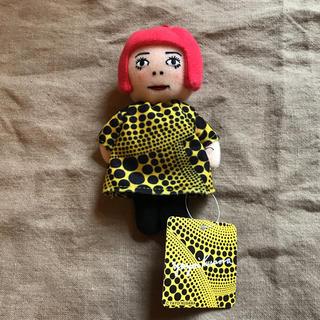 モマ(MOMA)の1体 新品 草間彌生 プラッシュ 人形  セット キーチェーン 草間弥生(ぬいぐるみ)