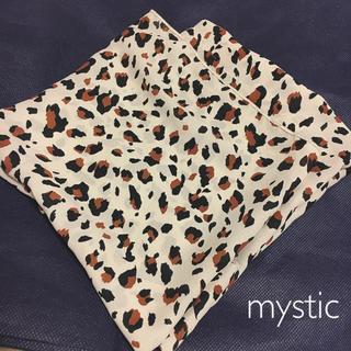 ミスティック(mystic)のmystic ミスティック レオパードスカーフ  (バンダナ/スカーフ)
