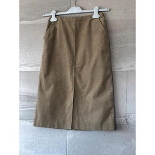 プラージュ(Plage)の専用  プラージュ キャメル色♡タイトスカート コーデュロイ(ひざ丈スカート)