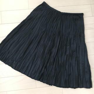 ノービーンズ(KNOW BEANS)のプリーツスカート(ひざ丈スカート)