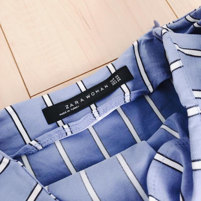 ZARA(ザラ)のZARAストライプスカート レディースのスカート(ミニスカート)の商品写真