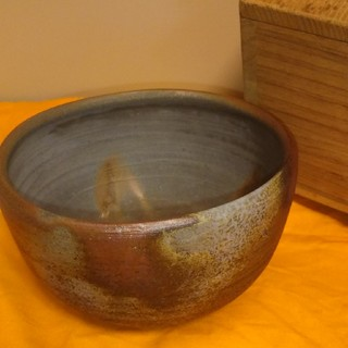 備前焼 抹茶碗 東山窯(陶芸)