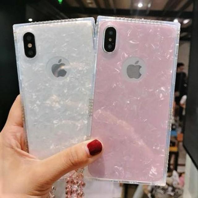 iphone8plus ケース 芸能人 / 新品 ラインストーン側面デコiPhoneケースの通販 by すなふきん's shop|ラクマ