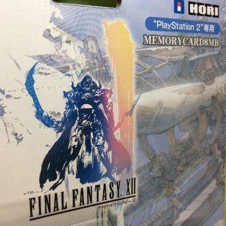 プレイステーション2(PlayStation2)のPS2 ファイナルファンタジーXII メモリーカード8MB(その他)