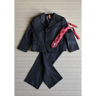 バーバリー(BURBERRY)のバーバリー スーツ(100A)+ネクタイ■フォーマル(ドレス/フォーマル)