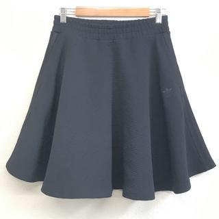 アディダス(adidas)の美品 adidas アディダス ミニ スカート 黒 S(ミニスカート)