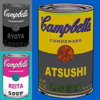 アンディウォーホル(Andy Warhol)のアンディ ウォーホル / オリジナル キャンベルスープ アート ポスター SP(アート/写真)