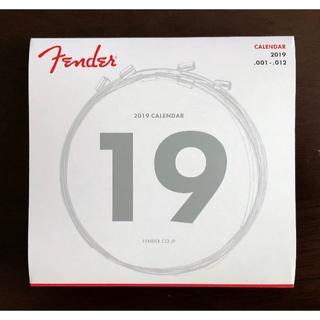 Fender 2019年 カレンダー(その他)