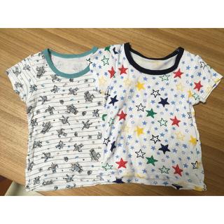 シマムラ(しまむら)のシャツ2枚セット(下着)
