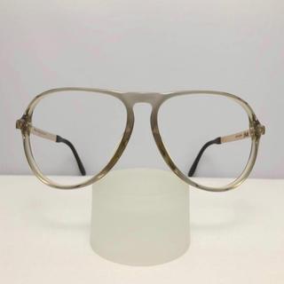 シルエット(Silhouette)のシルエット ティアドロップ ビンテージ プラスチック 新品 眼鏡 カーキ メガネ(サングラス/メガネ)