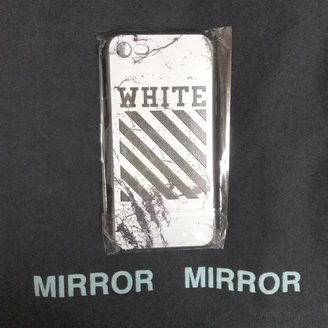 OFF-WHITE - ((最安値))iPhone7、8兼用ケースの通販 by ポケモンshop|オフホワイトならラクマ