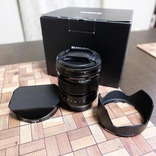 フジフイルム(富士フイルム)のFUJIFILM XF16mm f1.4 純正角形フード付 マルミフィルター付(レンズ(単焦点))