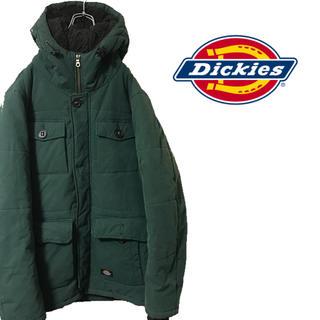 ディッキーズ(Dickies)のDickies ディッキーズ 中綿 ダウン グリーン ビッグサイズ ボア フード(ダウンジャケット)