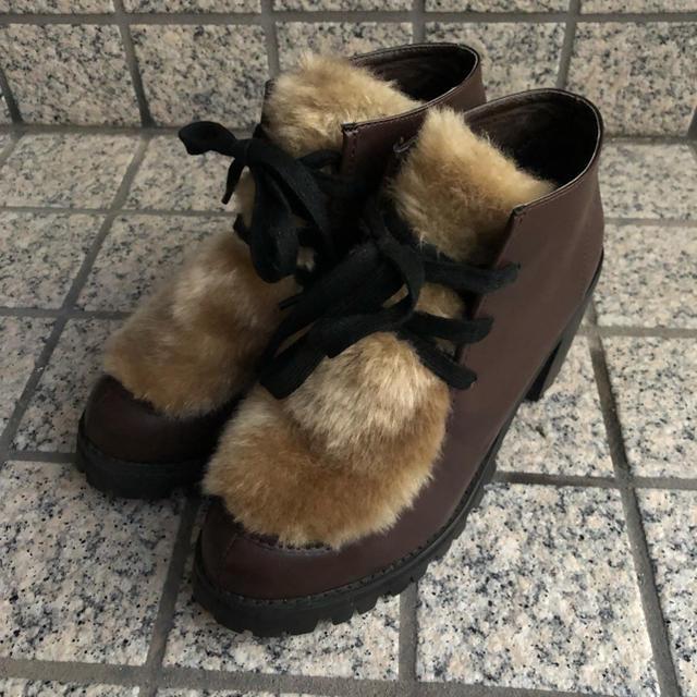 mystic(ミスティック)のmystic  ブーツ 厚底 レディースの靴/シューズ(ローファー/革靴)の商品写真