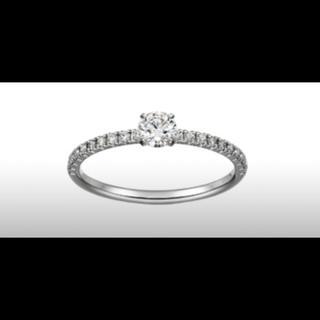 カルティエ(Cartier)のカルティエ 婚約指輪(リング(指輪))