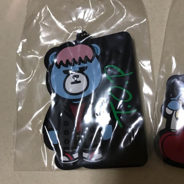 BIGBANG(ビッグバン)のKRUNK×BIGBANG一番くじ H賞 ラバチャーム TOPとメンバー エンタメ/ホビーのCD(K-POP/アジア)の商品写真
