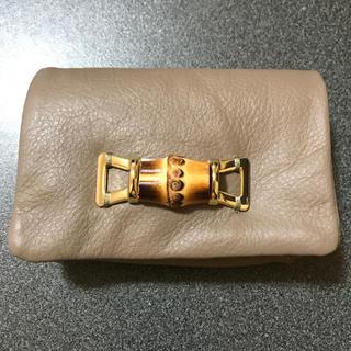パピヨネ(PAPILLONNER)の新品 未使用 パピヨネ バンブーミニ財布(財布)