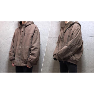 [used]XL big silhouette active jacket.(ブルゾン)
