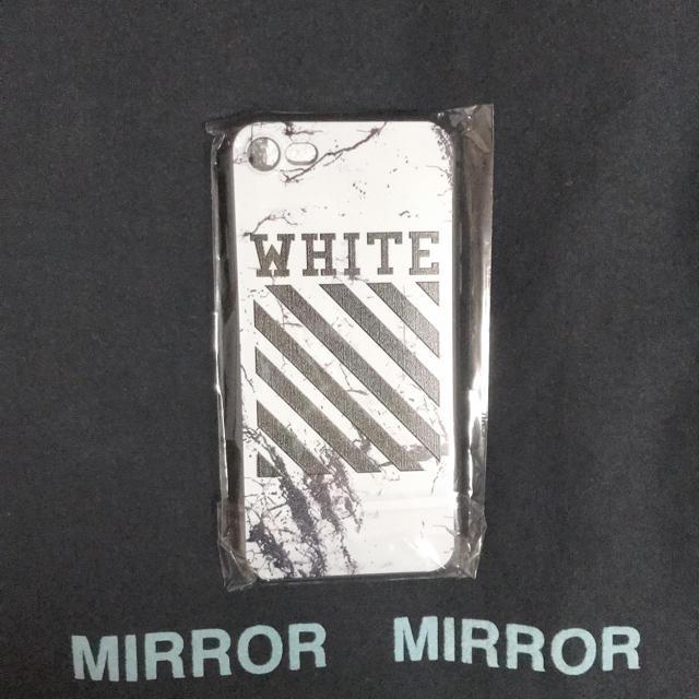 OFF-WHITE - iPhone7、8兼用ケースの通販 by ポケモンshop|オフホワイトならラクマ