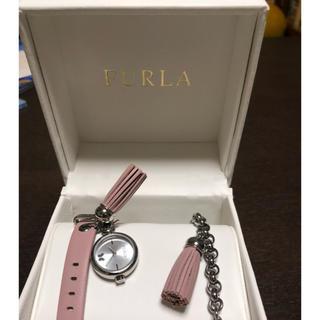 フルラ(Furla)のフルラ  新品チャーム付き腕時計(腕時計)