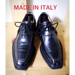 ステファノブランキーニ(STEFANO BRANCHINI)の美品 イタリア製 ビジネスシューズ 39 24.5〜25cm(ドレス/ビジネス)